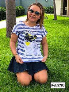 T-Shirt - Vestido, Adulto - Infantil - Feminino - Tal Mãe Tal Filha Cód. 5783