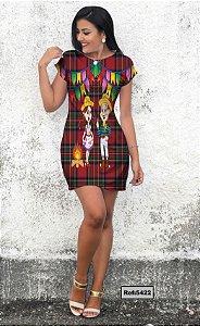 T-Shirt - Vestido, Adulto - Infantil - Feminino - Tal Mãe Tal Filha Cód. 5422