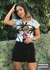 T-Shirt - Vestido, Adulto - Infantil - Feminino - Tal Mãe Tal Filha Cód. 6738