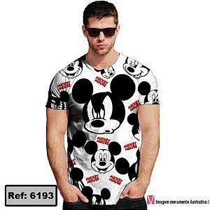 T-Shirt modelo Babylook Cód. 6193
