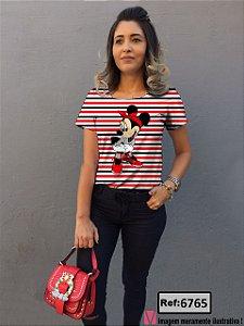 T-Shirt modelo Babylook Cód.6765
