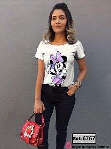 T-Shirt modelo Babylook Cód.6767