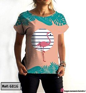 T-Shirt - Vestido, Adulto - Infantil - Feminino - Tal Mãe Tal Filha Cód.6816