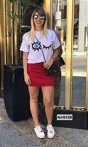 T-Shirt - Vestido, Adulto - Infantil - Feminino - Tal Mãe Tal Filha Cód.6126