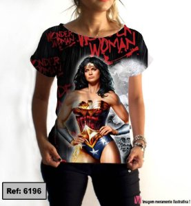 T-Shirt modelo Babylook Cód.6196