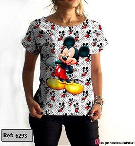 T-Shirt modelo Babylook Cód.6293