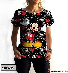 T-Shirt modelo Babylook Cód.6294