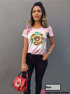 T-Shirt - Vestido, Adulto - Infantil - Feminino - Tal Mãe Tal Filha Cód.7029