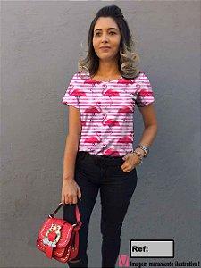T-Shirt modelo Babylook Cód.6843