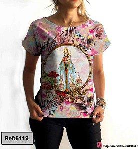 T-Shirt modelo Babylook Cód. 6119
