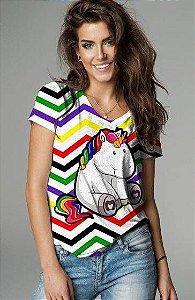 T-Shirt modelo Babylook Cód.7311