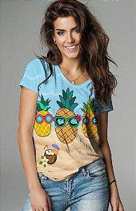 T-Shirt modelo Babylook Cód.7322