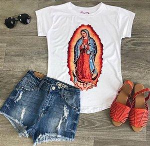 T-Shirt Atacado NOSSA SRA DE GUADALUPE - Adulta - Várias cores de tecido