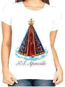 T-Shirt Atacado NOSSA SENHORA APARECIDA - Adulta - Várias cores de tecido
