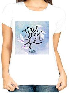 T-Shirt Atacado VAI COM FÉ 2 - Adulta - Várias cores de tecido