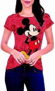 T-Shirt Atacado MICKEY MOUSE - Adulto - Várias cores de tecido