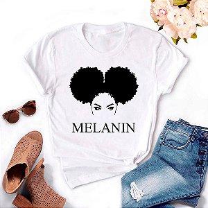 Tshirt Feminina Atacado MELANIN  - TUMBLR