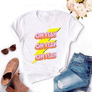 Tshirt Feminina Atacado OH YEAH  - TUMBLR