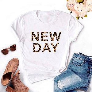 Tshirt Feminina Atacado NEW DAY  - TUMBLR
