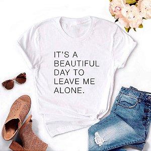 Tshirt Feminina Atacado IT'S A BEAUTIFUL DAY  - TUMBLR