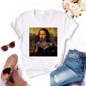 Tshirt Feminina Atacado MONA PIRULITO  - TUMBLR