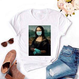 Tshirt Feminina Atacado MONA MASK  - TUMBLR