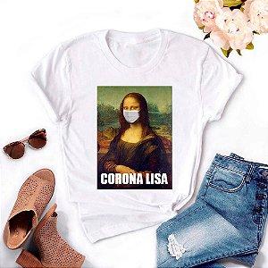Tshirt Feminina Atacado MONA CORONA LISA  - TUMBLR