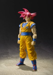 Dragon Ball Super God Son Goku SH Figuarts