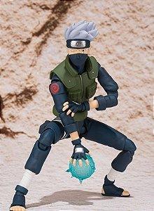 Naruto Shippuden S.H. Figuarts: Hatake Kakashi  (ABERTO) (DETALHE)