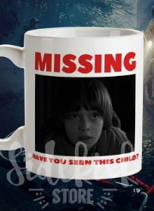 "Caneca ""Will Byers"" 325ml"