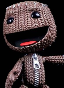 Little Big Planet - Series 1 : Happy Sackboy