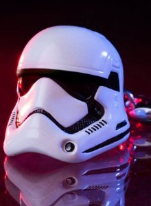 Stormtrooper First Order Helmet - Chaveiro