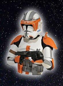 Comandante Cody Star Wars (Cofre Para Moedas)