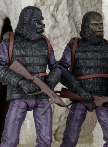 Planet of the Apes Classic Series TRU Exclusive Gorilla Solider 2-Pack