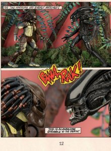 Alien Vs. Predator (Com Mini Comic) Pack 02 Figuras