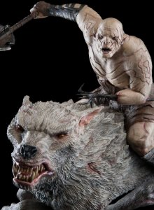 Azog Statue - The Hobbit: An Unexpected Journey - WETA