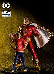 Shazam Deluxe Art Scale 1/10 DC Comics Serie 2