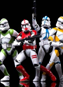 Star Wars : The Black Series - Clone Troopers of Order 66