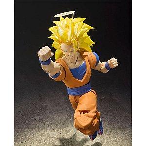 (Caixa amassada) Dragon Ball Z Super Saiyan 3 Goku SH Figuarts