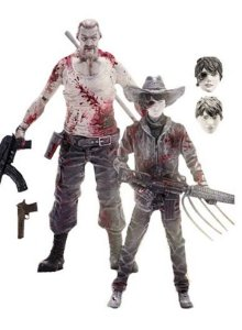 The Walking Dead Comic Series 4 Carl Grimes and Abraham Ford Action Figure 2-Pack