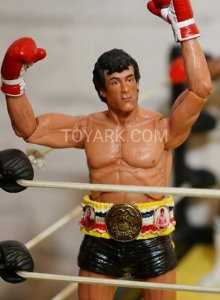 Rocky Balboa (Black Trunks Ver.) - Rocky III - 40th Anniversary - NECA