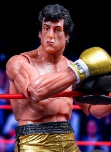 Rocky Balboa (Golden Trunks Ver.) - Rocky III - 40th Anniversary - NECA