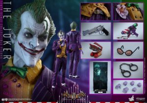 Hot Toys : Batman: Arkham Asylum - The Joker 1/6th