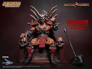 Mortal Kombat Shao Kahn Bloody Special Edition 1:12 (EMBALAGEM DANIFICADA)