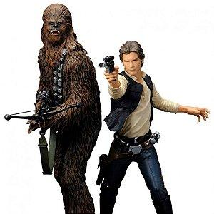Star Wars : Han Solo & Chewbacca 2-Pack Artfx+