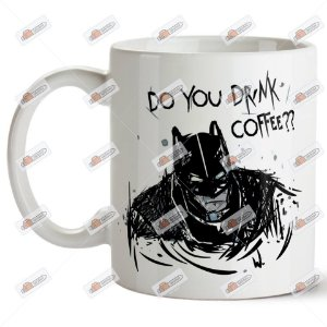 "Caneca ""Do you drink coffee?"" 325ml"