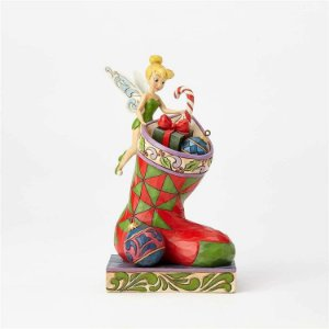 Disney Traditions Tinker Bell Stocking Stuffer Statue