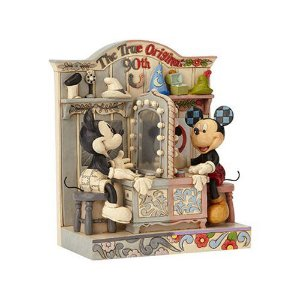 Disney Traditions: Mickey Mouse 90th Anniversary The True Original Statue by Jim Shore