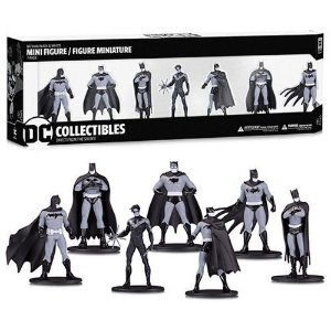 Batman Black and White Mini-Figure 7-Pack Box Set #1