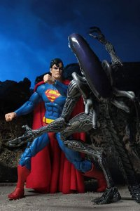 Superman vs Aliens 2-Pack Figure - NECA 2019 SDCC Exclusive